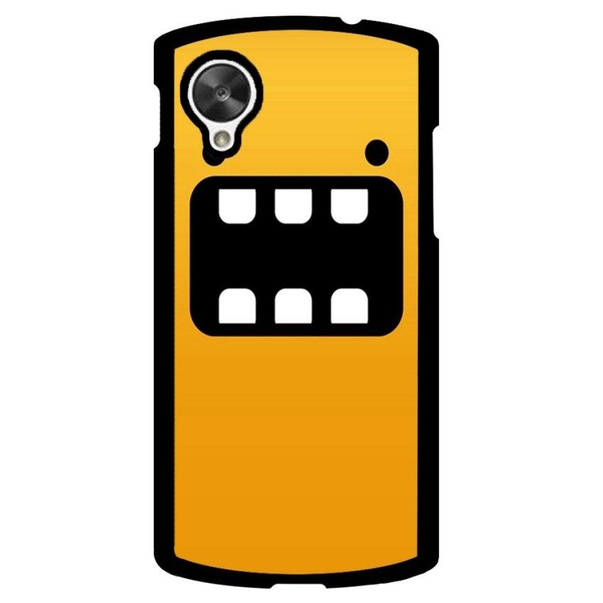Happy Expression Pattern Phone Case for LG Nexus 5 (Black)