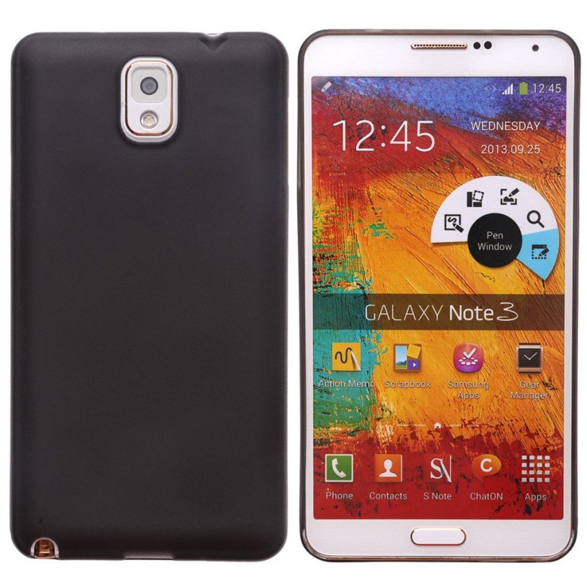 Hard Cover for Samsung Note 3 (Black)