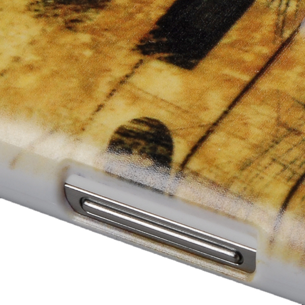 Hard PC Piano Keys Case Cover Back Samsung galaxy S4 mini I9195 I9190 I9192 (Gold) (Intl)