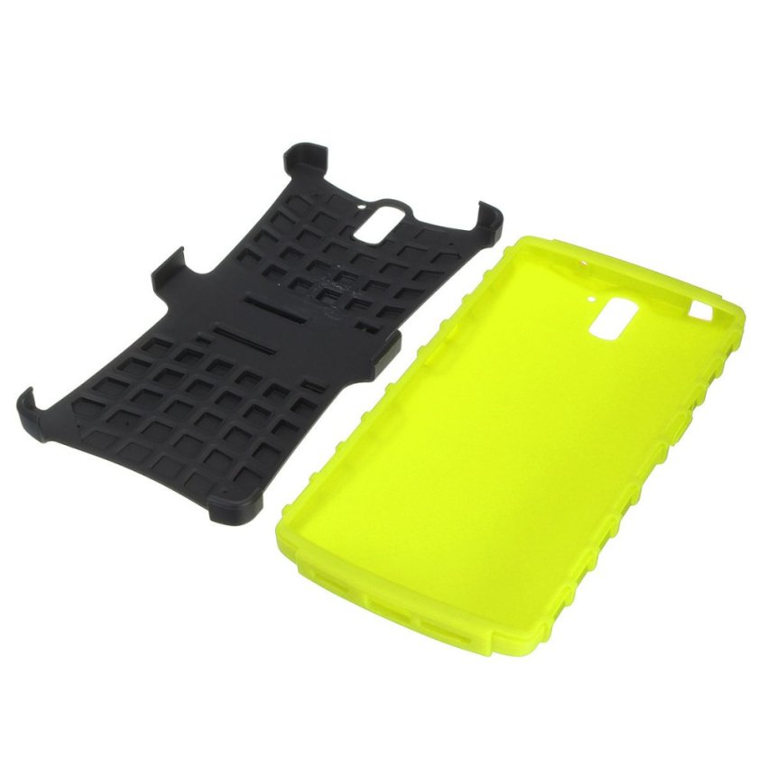 Hard Rugged Armor Heavy Duty Phone Cover Case w/ Stand For OnePlus One CM A0001 (Intl)