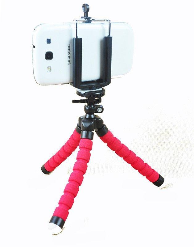 Hasense Car Holder for Phone Digital Camera GPS Holder (Red) (Intl)