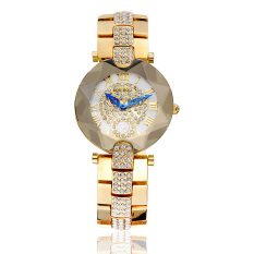 Hazyasm Sousou 2016 Nian New Shelves Explosion Models Ladies Watches Women Watch With Diamond Factory Direct Foreign Trade (Gold)