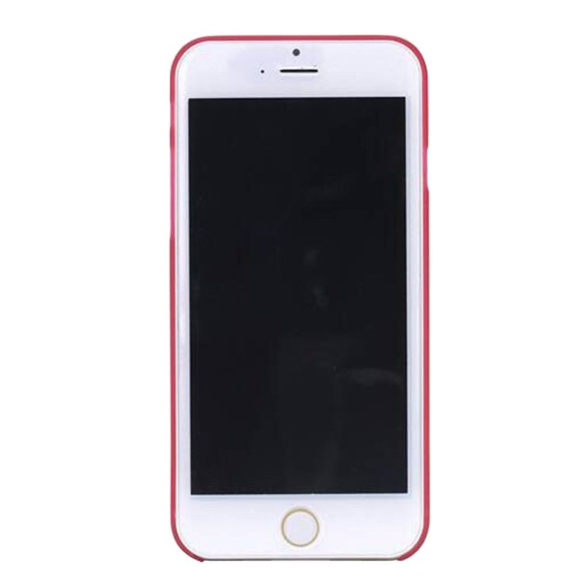 HB08 Cases Scrub Protect Shell 0.03 mm Slim Transparent Phone shell for iPhone 6 Plus Red