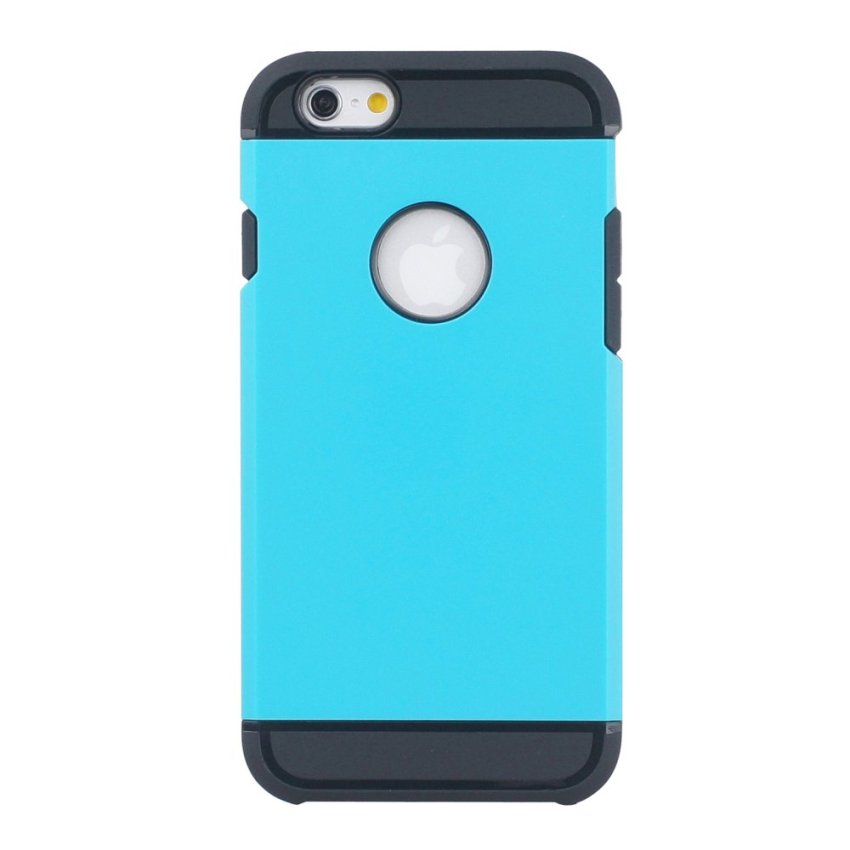 HB17 Cases TPU Cushioning Wear-resisting Phone Case for iPhone 6 Blue