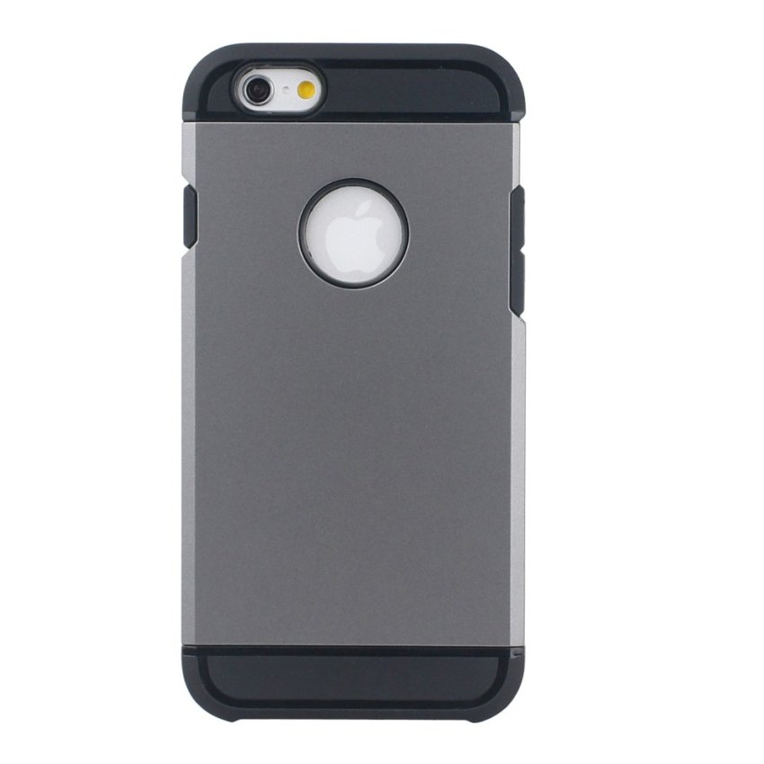 HB17 Cases TPU Cushioning Wear-resisting Phone Case for iPhone 6 Grey