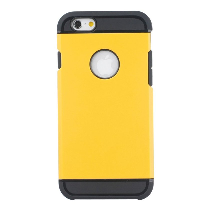 HB17 Cases TPU Cushioning Wear-resisting Phone Case for iPhone 6 Yellow