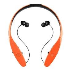 HBS900 Wireless Bluetooth Headset Sport Stereo Handsfree MIC Bass (Orange) - Intl