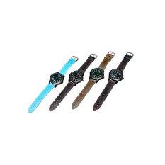 HDL Daybird Quartz Mens Blue Leather Strap Watch 3974 (Intl)