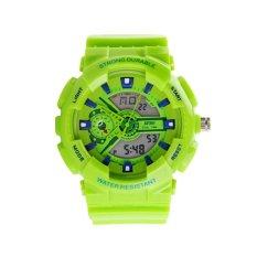 HDL Skmei AD0929 Unisex Fashion Sport Watch Analog / Digital Water Resist Dual Time Multifunction Alarm Led Wrist Watch