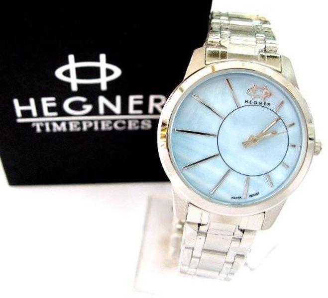 Hegner - Jam Tangan Wanita - Silver - Stainless Steel - HGL414