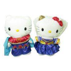 Hello Kitty Boneka Hello Kitty Pengantin England King Queen Original