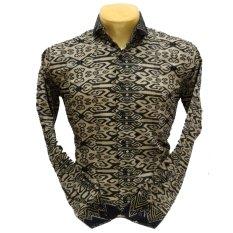 Herman Batik Baju A9051 Kemeja Batik Pria Slimfit Fashion Jeans