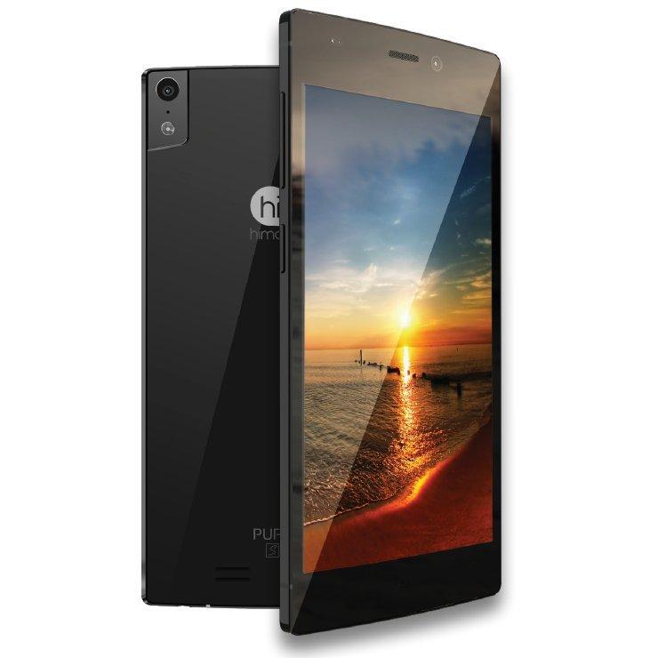 Himax Pure S - 16GB - Hitam + Bonus Case + Screen Guard