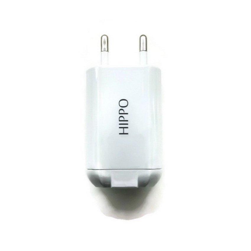 Hippo Dinamic Basic - Dual USB Adapter - Putih