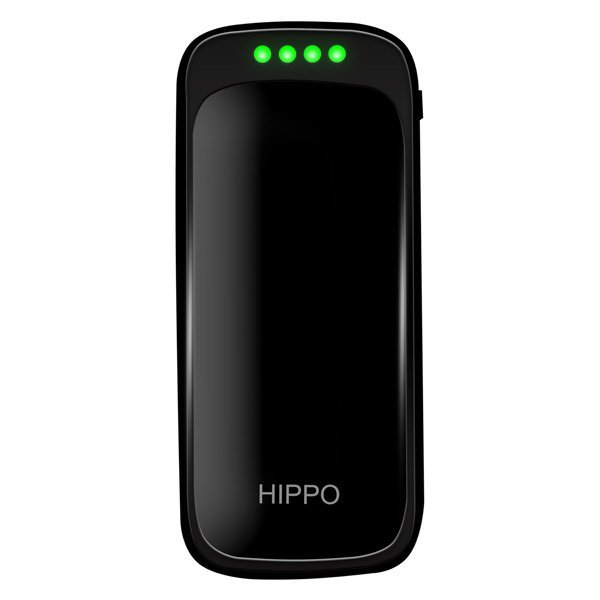 Hippo New Evo Power Bank - 6000 mAh - Hitam