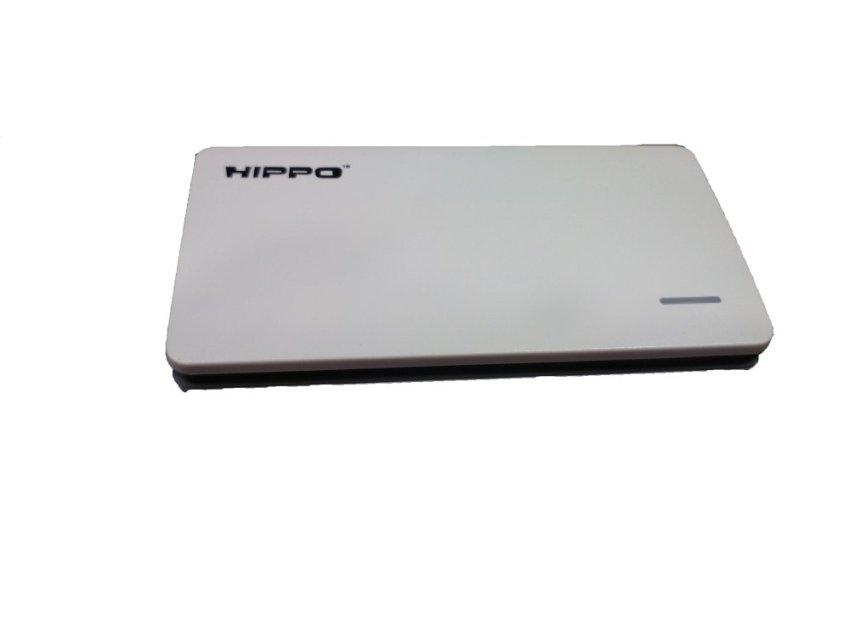 Hippo Powerbank Slick 5000 mAh - Putih