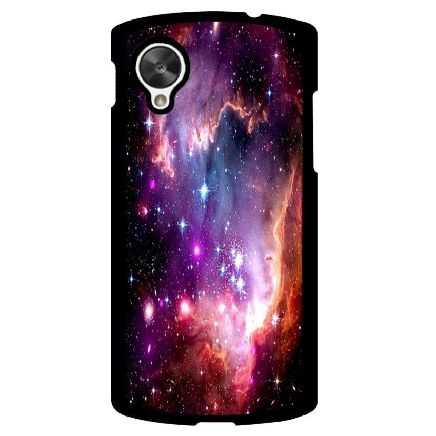 Hipster Nebula Pattern Phone Case for LG Nexus 5 (Black)
