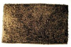 HK #608-1C Keset Microfiber Kilap Segi 50 x 80 cm - Coklat