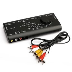 HKS Hot Sell Practical AV Audio Video Signal Switcher 4 Input 1 Output Switch (Intl)