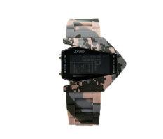 Hogakeji Skmei Mens Camouflage Cool LED Sports Wrist Watch (Camouflage)