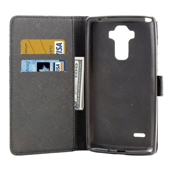Horizontal Flip Leather Cover with Holder & Card Slots & Wallet for LG Stylus LS770 (Blue) (Intl)