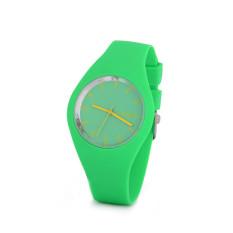 Hot Selling Jelly Silicone Geneva Watch Relogio Feminino Fashion Women Wristwatch Casual Luxury Watches (Green)