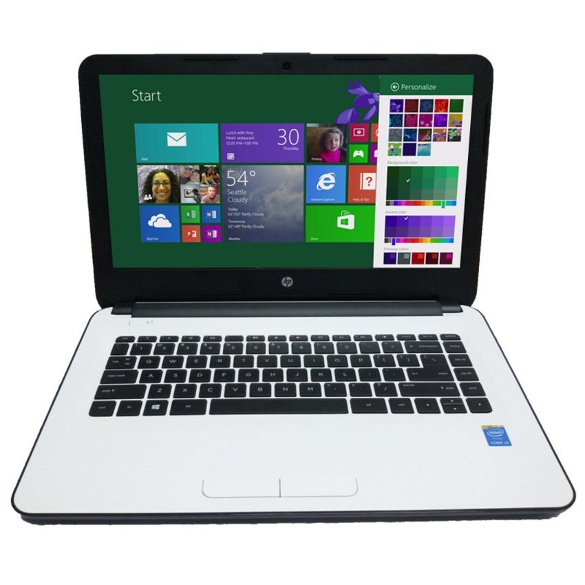 "Hp AC002TU - 14"" - Intel N3050 - 2GB RAM - 500GB - Putih"