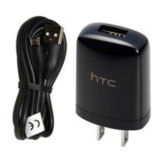 HTC Travel Charger Micro USB TC U250 Hitam