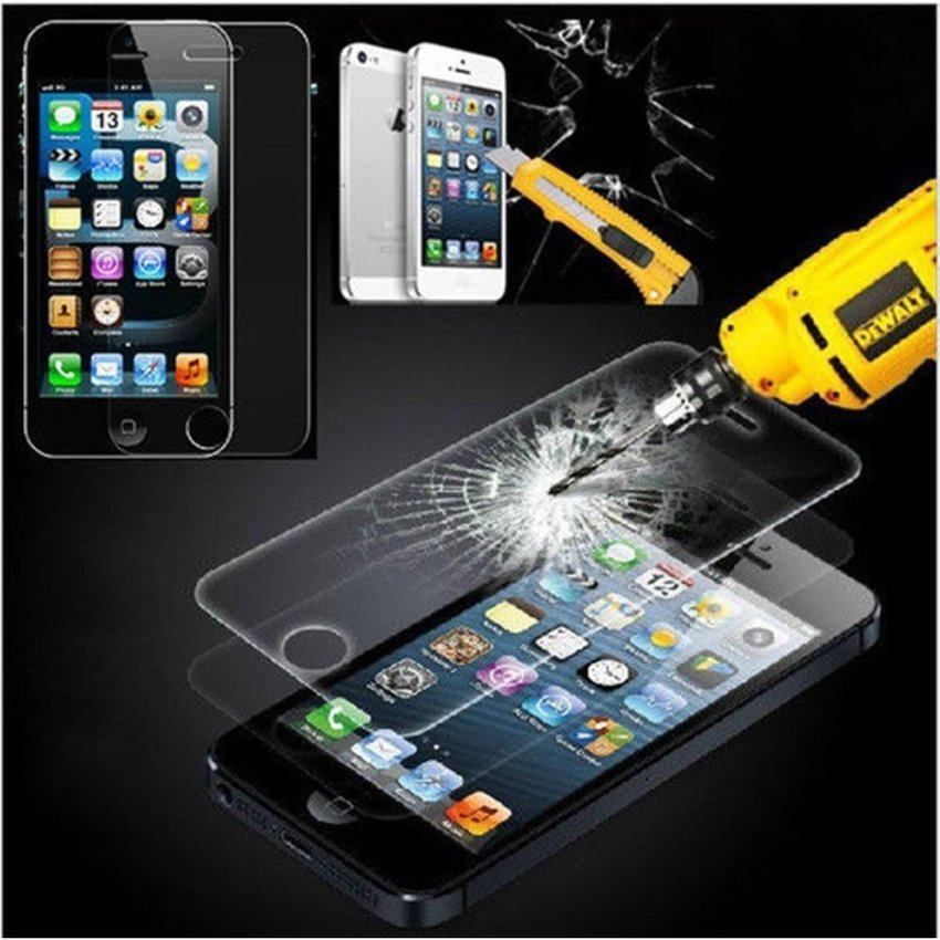 Hunter Tempered Glass for Alcatel One Touch Flash - 9H Rounded Edge - 0.33mm - Clear