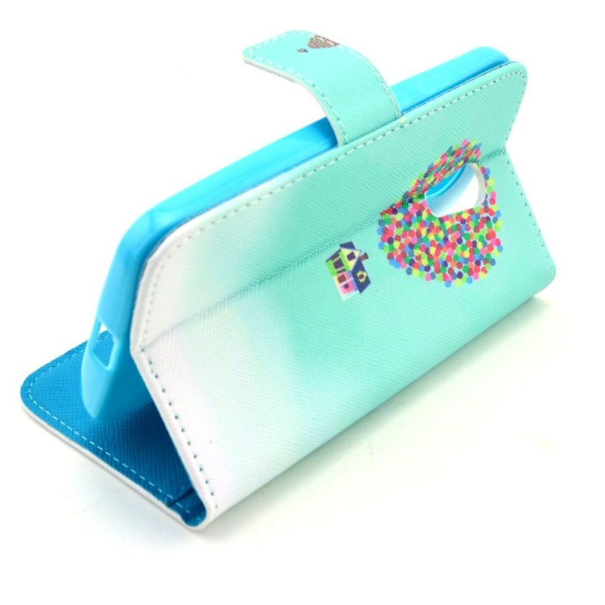 HXGRAND High Quality PU Leather Flip Stand Wallet Card Slot Bracket Back Case Cover for New Motorola Moto G (2nd Gen)