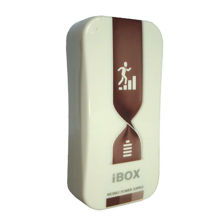 iBox Power Bank M-518 - 5600 mah - Coklat