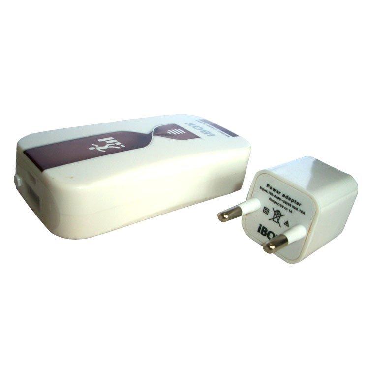iBox Power Bank M-518 - 5600 mah - Coklat