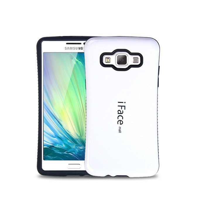 iFace Heavy-Duty Shockproof Hard Case for Samsung Galaxy J7 J7008 (White) (Intl)