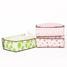 ILife Store Foldable Clothing Storage Box Non-Woven Closet Organizer Bag Pouch For Pillow Quilt Blanket Bedding Hot Selling - Intl
