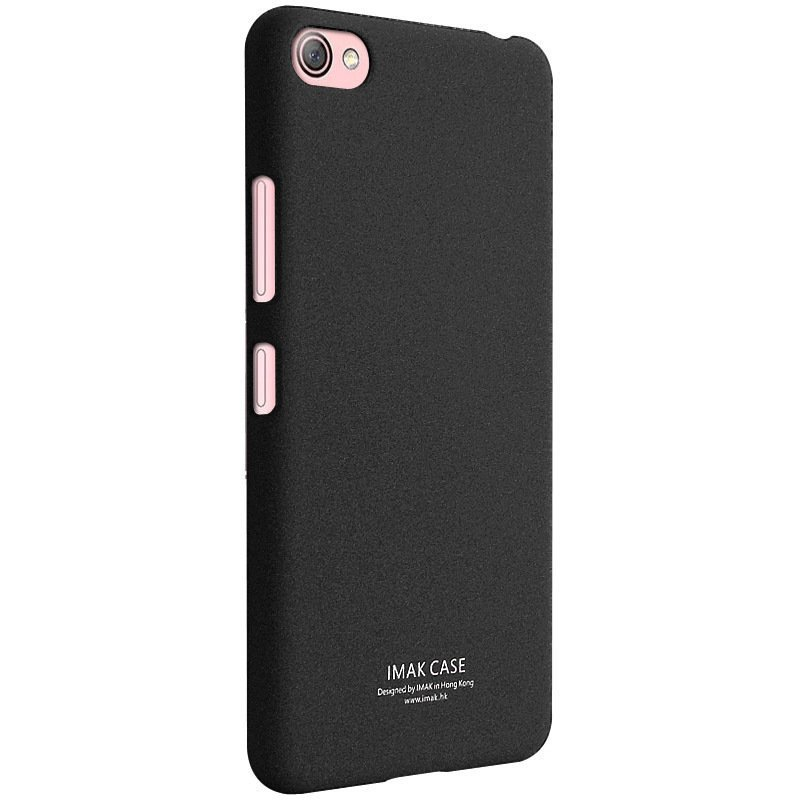 iMak Ultra-Thin Frosted Shield Back Case for Lenovo S60 (Black)