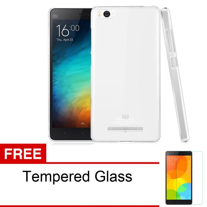 Imak Xiaomi MI4i Air Hardcase Ultrathin 0.3mm - Clear + Gratis Tempered Glass