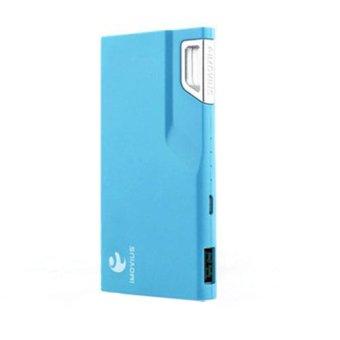IMovius Blue Color Power Bank Mini Lock - Biru
