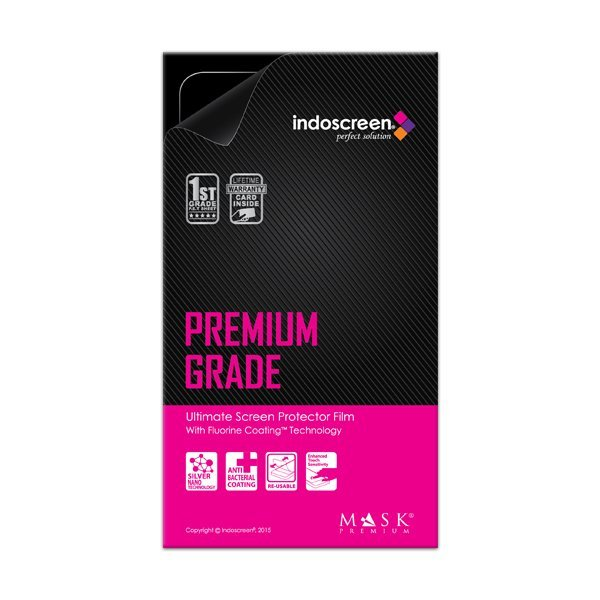 Indoscreen Lenovo Phab Plus Mask Premium Lifetime Warranty - Fluorine Coating Screen Protector