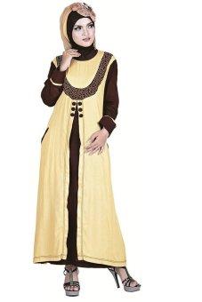 Inficlo Baju Gamis Katun Wanita Inficlo Sns 056