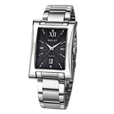 Iooilyu Genuine Men Square Watch Solid Stainless Steel Waterproof Mens Watch Wholesale Import Quartz Movement One Generation