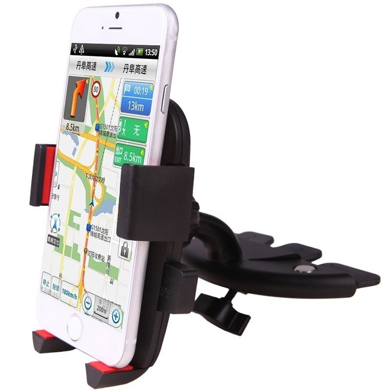 iPai Car Mobile Phone Holder Automatically Lock Red