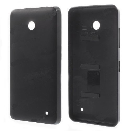 iPartsBuy Battery Back Cover Replacement for Nokia Lumia 630(Black)