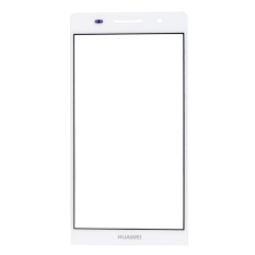 IPartsBuy Front Screen Cover Plate / Outer Glass Lens For Huawei Ascend P6 (White) (Intl)
