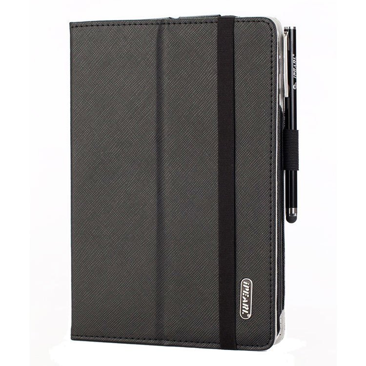 iPearl iPad Mini Leather Case with Stand - Hitam
