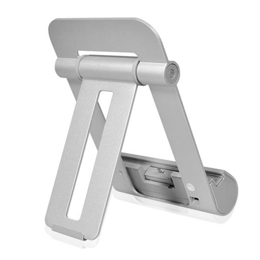 iPega Foldable Charging Stand for iPad 4/iPad Mini (Silver) (Intl)