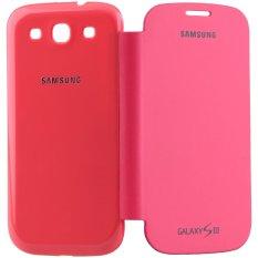 iStuff Flip Cover Fit Back - Samsung Galaxy SIII - Merah Muda