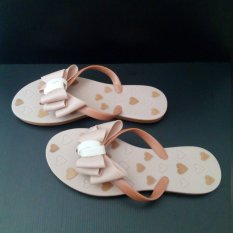 Ivynyx Jelly Shoes Jelly Flat Pita Nude Jelly Shoes Sendal Jelly