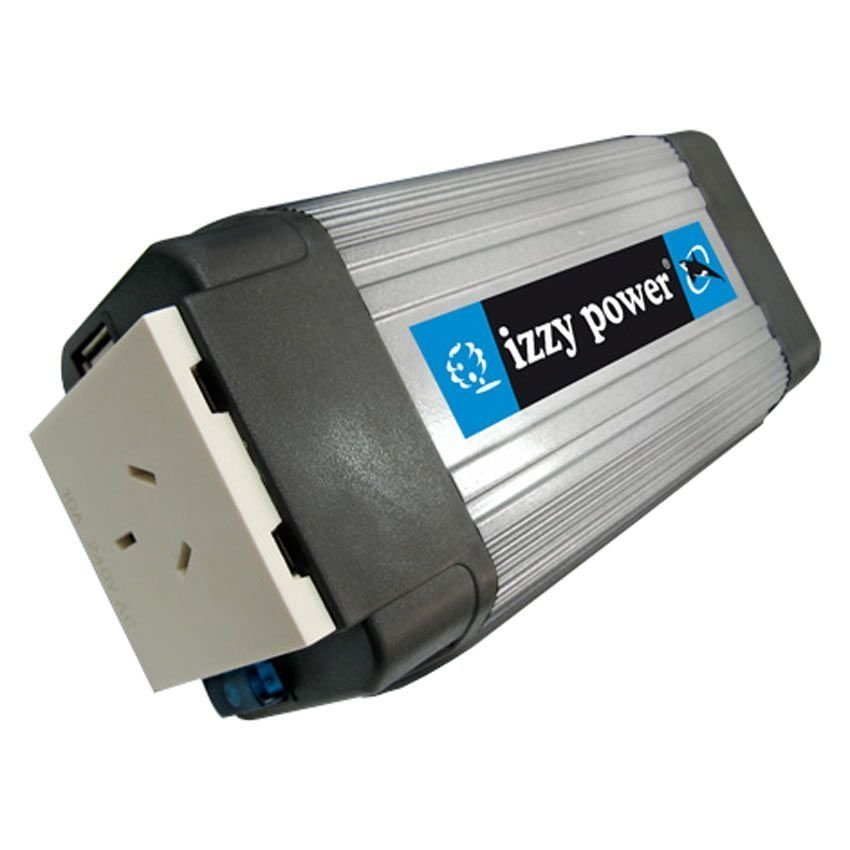 Izzy Power DC to AC Car Inverter HT-E-350-24 350 Watt 24 Volts - with USB Power Port - 24 Volts