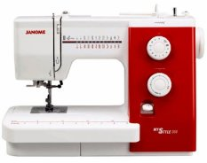 Janome MyStyle 500 Mesin Jahit Multifungsi - Putih Merah