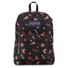 JanSport T501 SuperBreak Backpack High Risk Red Fresh Prince (Intl)